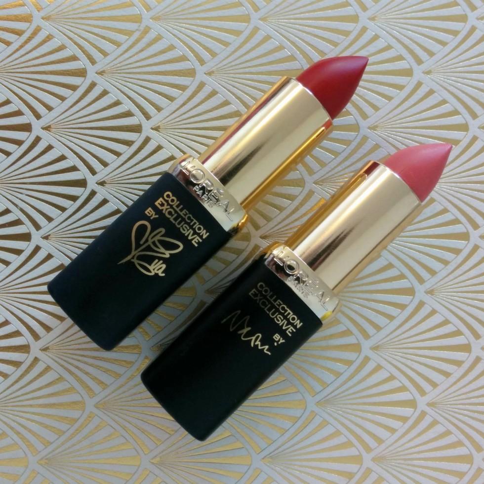 L'Oreal Color Riche - Blake's Delicate Pink & Eva's True Red