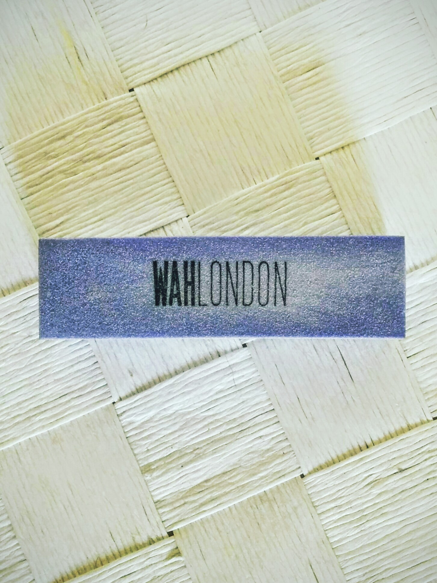 WAH London Nail Buffer