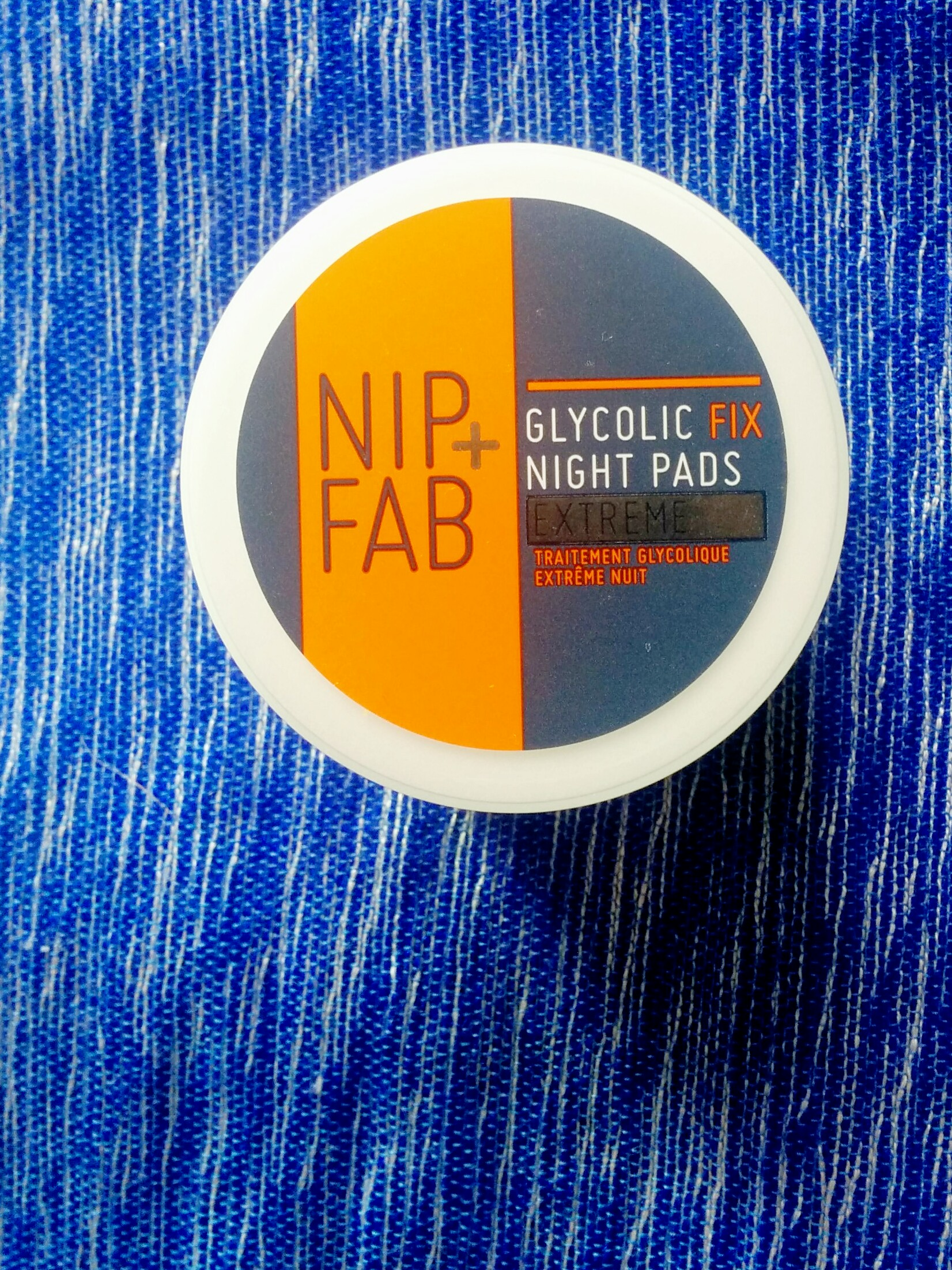 Nip+Fab Glycolic Extreme night pads