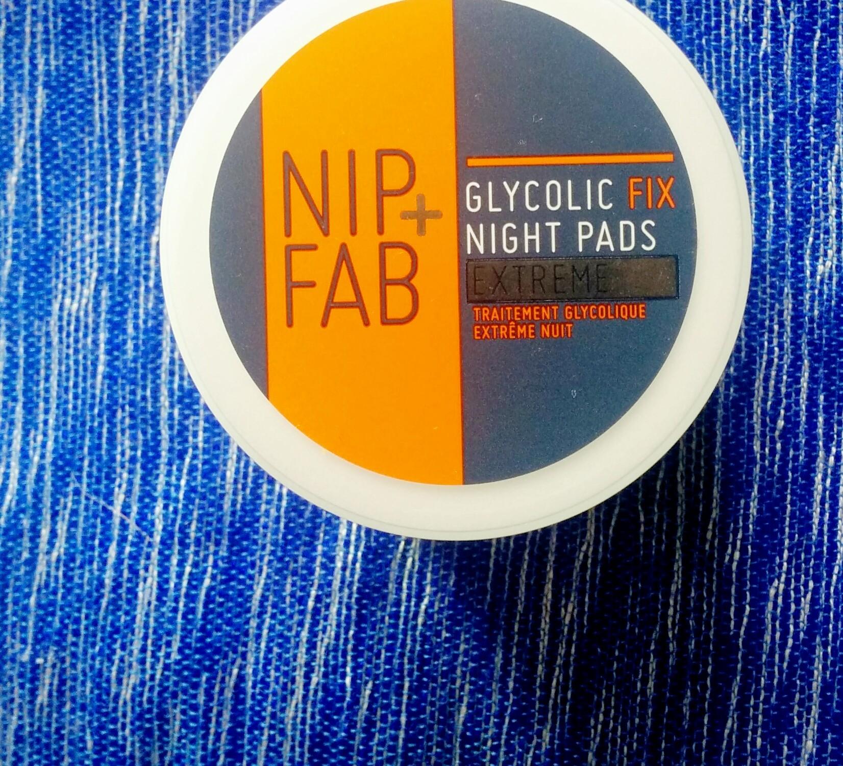 Nip+Fab Glycolic Extreme night pads